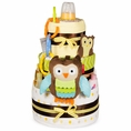 Whoo Loves You Baby Owl Diaper Cake