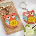 WHOO-ray Owl Key Ring