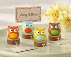 """Whoo's the Cutest"" Baby Owl Place Card Holders (Set of 4)"
