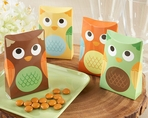 """Whooo's Happy?"" Owl Favor Boxes (Set of 24)"