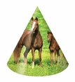 Wild Horses Child Size Party Hats