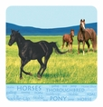 Wild Horses Tablecover