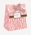 Wild Safari Pink Favor Bags