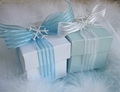 Winter Snowflake Favor Box Kit