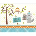 Woodland Creatures Boy Invitations
