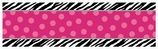 Zebra Party Customizable Giant Party Banner