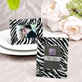 Zebra Pattern Picture Frame Favors