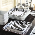 Zebra Print Party Supply Themes
