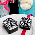 Zebra Stripe Black & White Mint Tin Favors