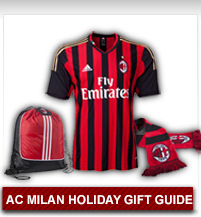 AC Milan Holiday Gift Guide