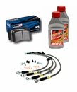 Trackday Stage 1 Brake Bundle Kit (05-14 Standard GT ABS)