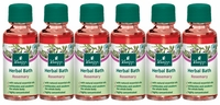 Awakening Vitality Bath: Rosemary (6 Travel Sizes)