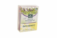 """Bath Benefit Kit"" Set of 5 Mineral Bath Salt Sachets"