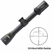 "Burris 200326, 3-9x-40mm, C4 Plus Riflescope, Custom Knob, 1"" Tube, C4 Wind MOA Reticle, Matte Finish"
