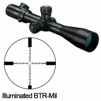 Bushnell ET6245FJ, Elite Tactical Riflescope, ERS 6-24x 50mm, FFP, Illuminated BTR-Mil Reticle