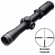 Leupold 110685, VX-R Riflescope, 2-7x33mm, FireDot German #4 Illuminated Reticle, Metric