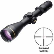 Leupold 110689, VX-R Riflescope, 3-9x50mm, FireDot German #4 Illuminated Reticle, Metric