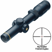 Leupold 111230, VX-R Riflescope, 1.25-4x20mm, FireDot Duplex Illuminated Reticle