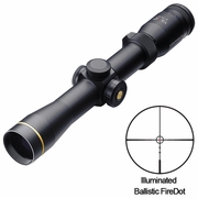 Leupold 111233, VX-R Riflescope, 2-7x33mm, Ballistic FireDot Illuminated Reticle