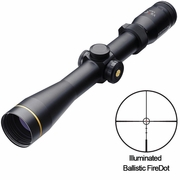 Leupold 111236, VX-R Riflescope, 3-9x40mm, Ballistic FireDot Illuminated Reticle