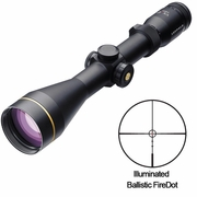 Leupold 111237, VX-R Riflescope, 3-9x50mm, Ballistic FireDot Illuminated Reticle