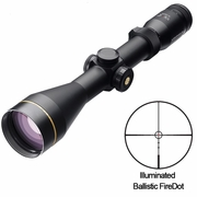 Leupold 111249, VX-R Riflescope, 4-12x50mm, Ballistic FireDot Illuminated Reticle