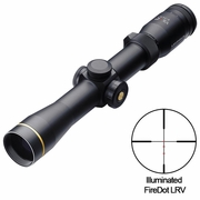 Leupold 119409, VX-R Riflescope, 2-7x33mm, Multi-Dot FireDot LRV Reticle