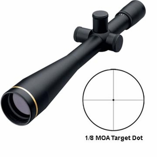Leupold 53440, Competition Series Scope, 45x45mm, Matte finish, 1/8 Min. Target Dot Reticle