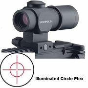 Leupold 63300, Tactical Prismatic Scope, 1x-14mm, Matte Finish, Illuminated Circle Plex Reticle