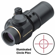 Leupold 63885,Prismatic Scope, 1x- 14mm, Matte Finish, Illuminated Circle Plex Reticle