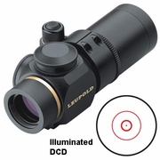Leupold 66170, Prismatic Scope, 1x-14mm,  Matte Finish, DCD (Double Circle Dot) Reticle