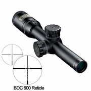 Nikon 16301, M-223 Riflescope, 1-4x20mm, Matte Finish, BDC 600 Reticle