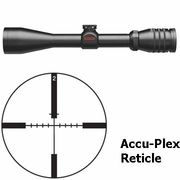 Redfield 117853 Dial-N-Shoot 3-9x42mm, Accu-Ranger Accu Plex Reticle, Matte Finish