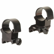 "Weaver 48449, 1"" Extension Rings, Extra High, Matte Finish"