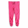 Appaman Girl Ruched Sweats in Hot Pink
