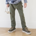 Go Gently Baby Organic French Terry Cargo Pant in Army - last one size 5Y!
