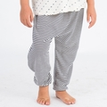Go Gently Baby Organic Harem Pant in Navy Stripe