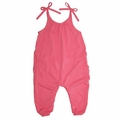 Go Gently Baby Organic Jersey Jumpsuit in Sherbert