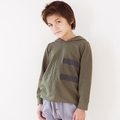 Go Gently Baby Organic Rider Hoodie in Army
