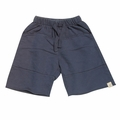 Go Gently Baby Organic Rounded Roo Shorts in Midnight Blue
