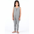 Go Gently Baby Organic Tank Jumpsuit in Slate - Coming soon!