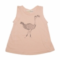 Go Gently Baby Organic Tank Top in Creamsicle Ostrich - Coming soon!