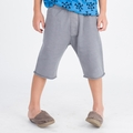 Go Gently Baby Organic Trouser Short in Slate