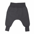 Go Gently Baby Organic Woven Harem Pant in Charcoal - Coming soon!