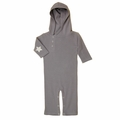 Kate Quinn Organic Star Hooded Jumpsuit in Slate