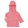 Kate Quinn Organic Star Hoodie in Bubblegum - last one size 18-24M!
