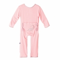 Kickee Pants Applique Coverall in Lotus Plesiosaur - size 0-3 left!
