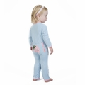 Kickee Pants Applique Coverall in Pond Strawberry