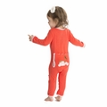 Kickee Pants Applique Coverall in Poppy Berries
