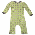 Kickee Pants Bamboo Coverall in Meadow Cow - last one size 0-3M!